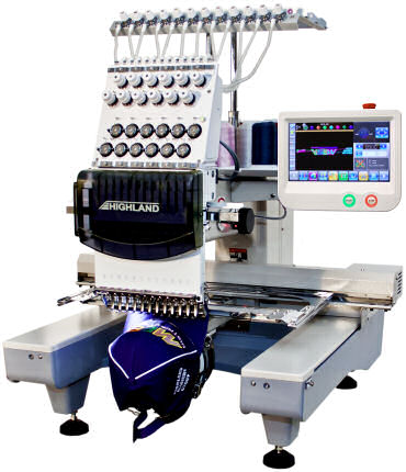 Compact Embroidery Machine