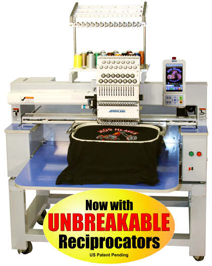 highland embroidery machine reviews