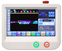 Embroidery Machine LCD Touch Screen Control Panel