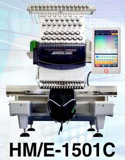 15 Needle Compact Embroidery Machine