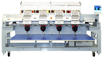 Highland Four Head Embroidery Machine