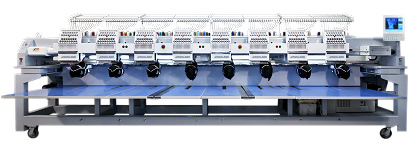 Highland Eight Head Embroidery Machine