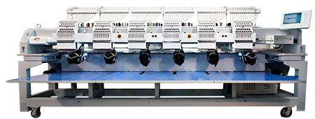 Best Embroidery Machine for Small Business - multihead